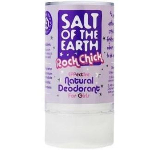 Salt of the Earth Rock Chick Natural Deodorant For Girls