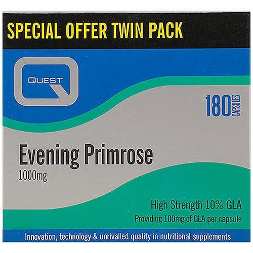 Quest Evening Primrose OIl Twin Pack