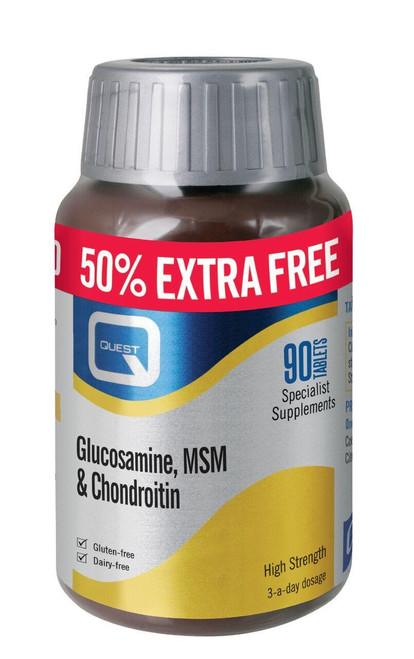 Quest Glucosamine, MSM and Chondroitin