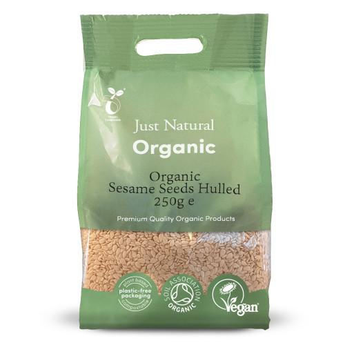 Just Natural Organic Sesame Seeds Hulled