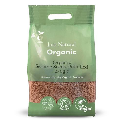 Just Natural Organic Sesame Seeds Unhulled