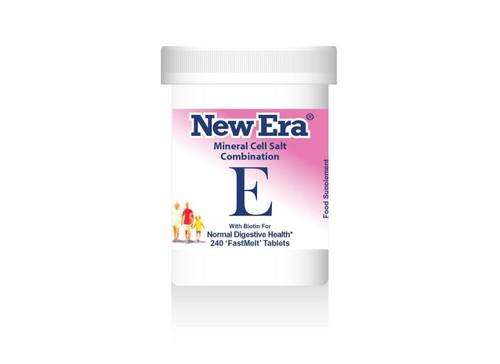 New Era Mineral Cell Salt Combination E