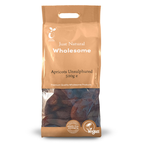Just Natural Wholesome Apricots Unsulphured