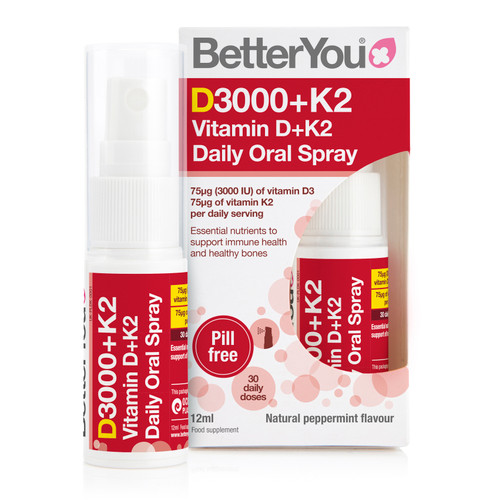 BetterYou Vitamin D and K2 Daily Oral Spray
