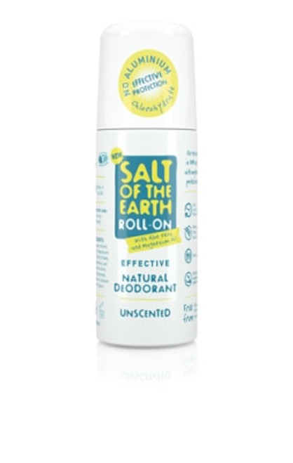 Salt of the Earth Natural Deodorant Roll-On Unscented