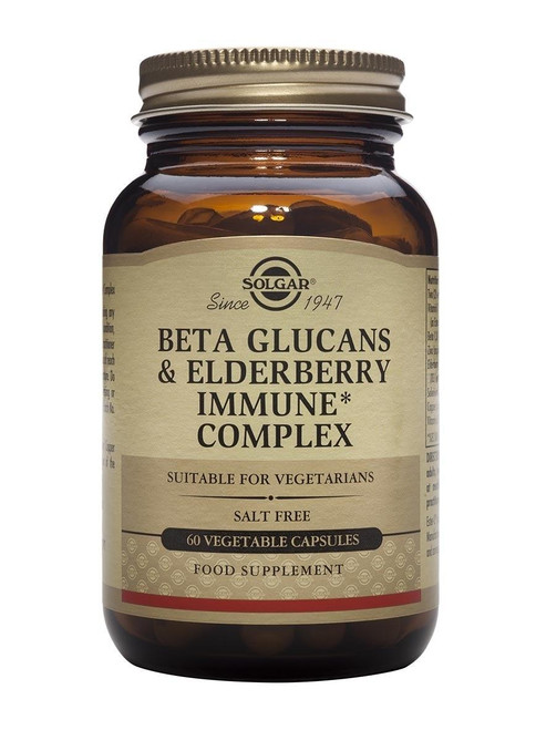 Solgar Solgar Beta Glucans and Elderberry Immune Complex