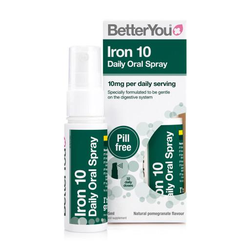 BetterYou Iron 10 Daily Oral Spray