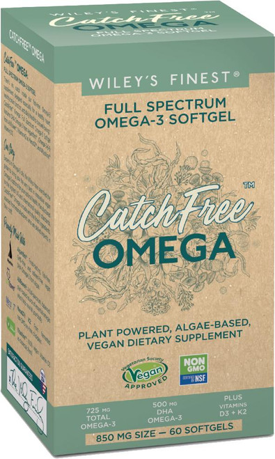 Wileys Catch Free Vegan Omega 3 Capsules