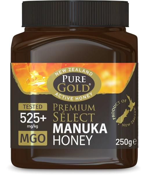 Pure Gold Manuka Honey 525+ MGO