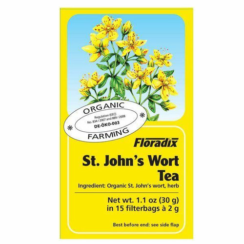 Salus Organic St Johns Wort Herbal Teabags