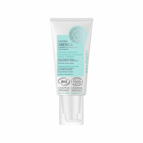 Natura Siberica Invigorating Face Day and Night Cream for dry and dull skin,