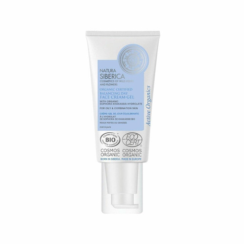 Natura Siberica Balancing Face Cream-Gel for oily and combination skin