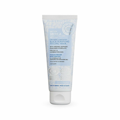 Natura Siberica Black Purifying Peeling Mask for oily and combination skin