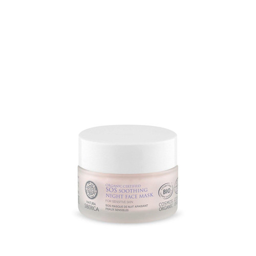Natura Siberica SOS Soothing Night Face Mask for sensitive skin