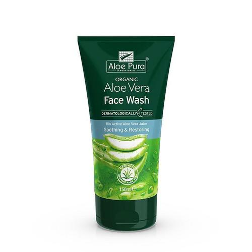 Aloe Pura Organic Aloe Vera Face Wash