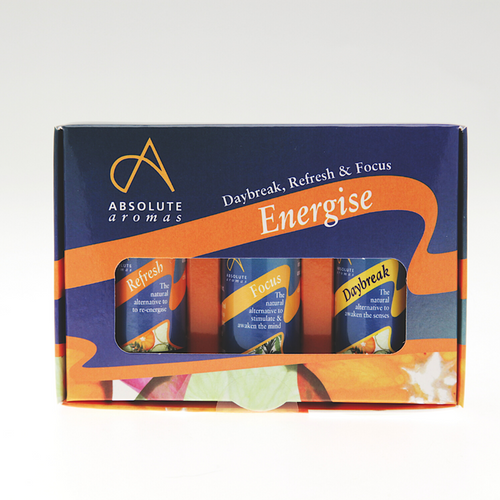 Absolute Aromas Energise Blend Kit - 3x10ml