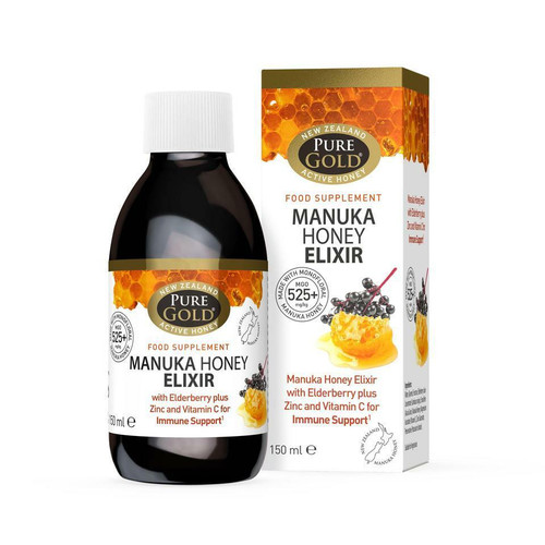 Pure Gold Manuka Honey Elixir