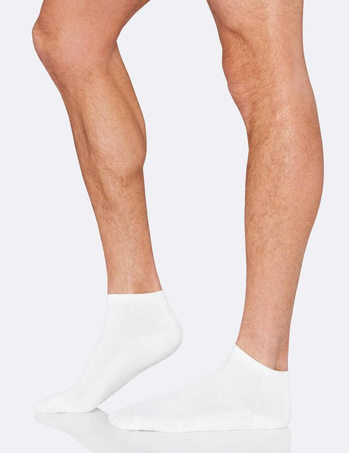 Boody Mens Sport Sock - White