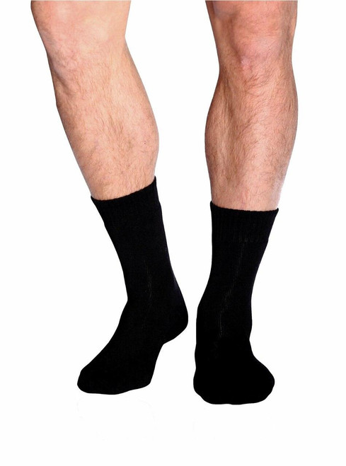 Boody Mens Work / Boot Sock - Black