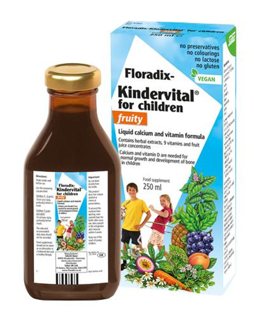 Floradix Kindervital for Children Fruity Multivitamin Formula