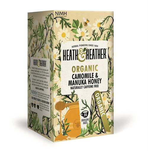 Heath and Heather Organic Chamomile and Manuka Honey Tea