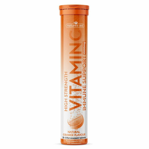 Natures Aid Vitamin C 1000mg Effervescent