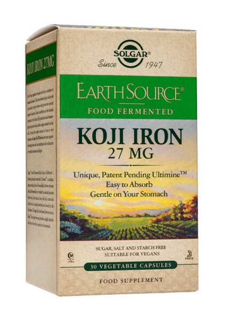 Solgar Earth Source Koji Iron
