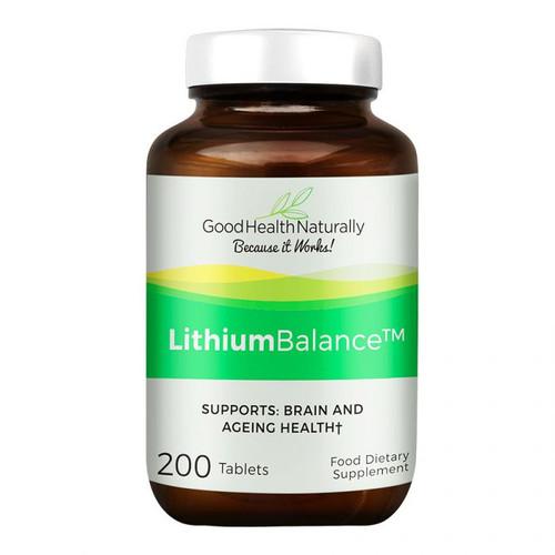 Good Health Naturally Lithium Balance 200 Tablets