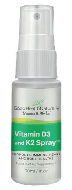 Good Health Naturally D3 & K2 Spray