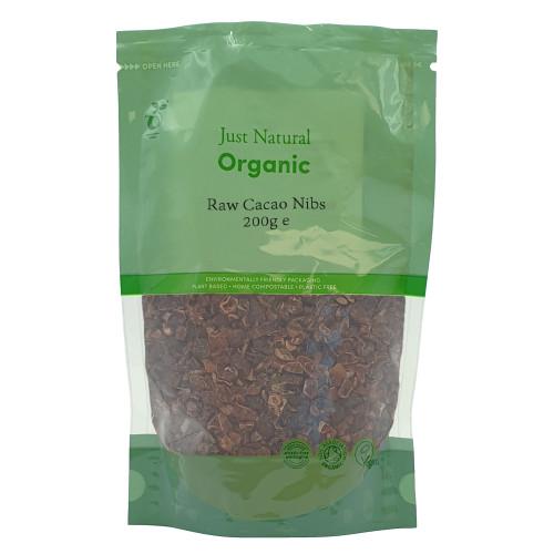 Just Natural Organics Raw Cacao Nibs
