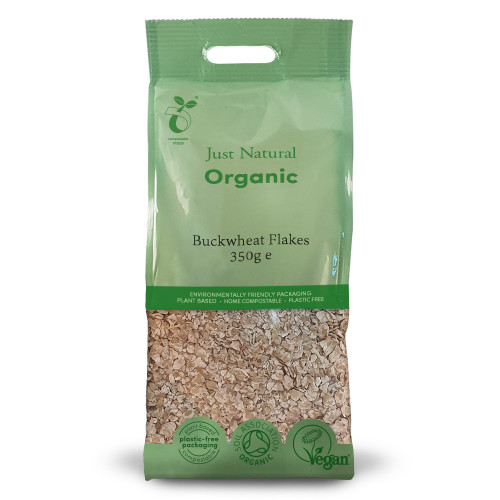Just Natural Organic Gluten Free Buckwheat Flakes