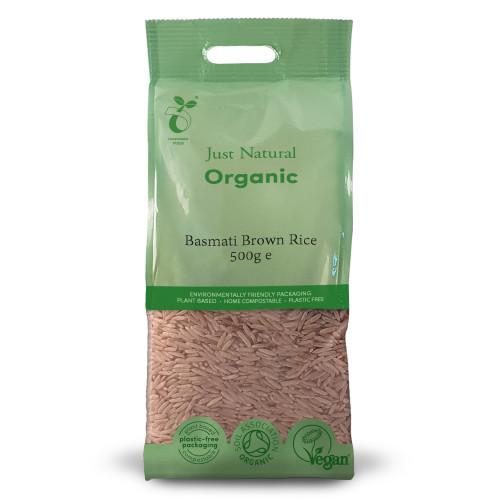 Just Natural Organic Basmati Brown Rice