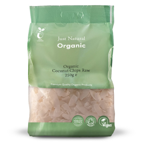 Just Natural Organic Raw Coconut Chips