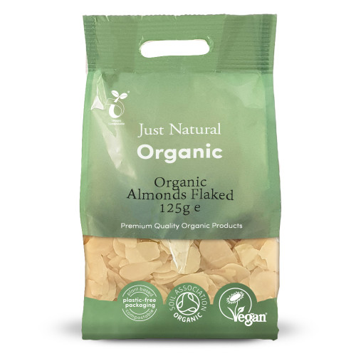 Just Natural Organic Flaked Almonds