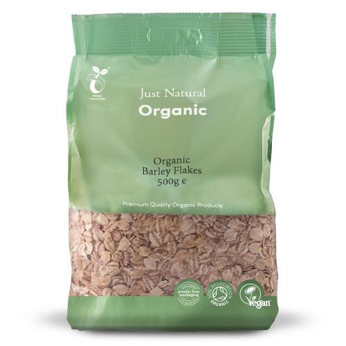 Just Natural Organic Barley Flakes