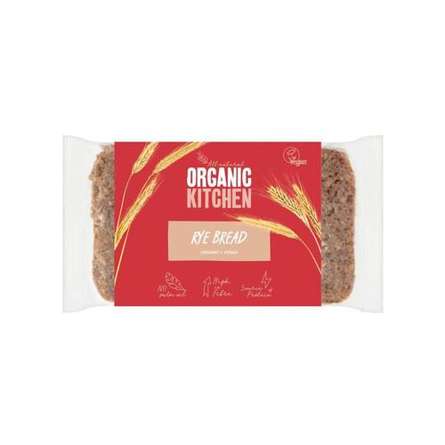 Organic Kitchen Organic Wholegrain Rye Bread 500g