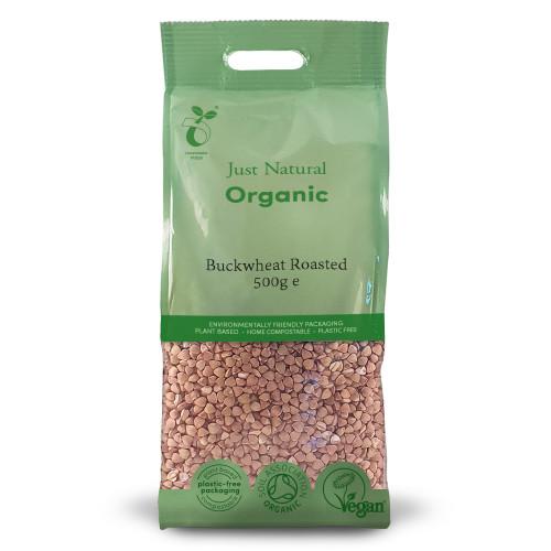 Just Natural Organic Roasted Buckwheat