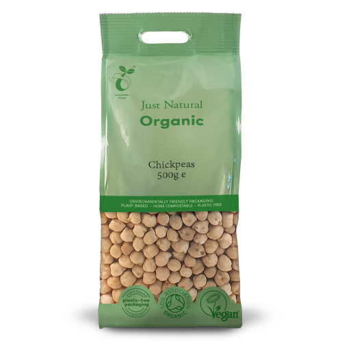 Just Natural Organic Dried Chickpeas