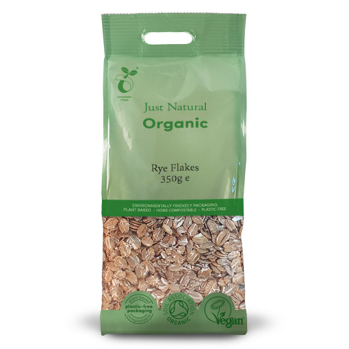 Just Natural Organic Rye Flakes