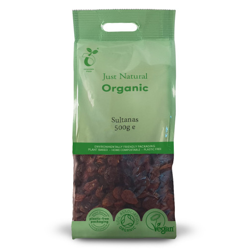 Just Natural Organic Sultanas