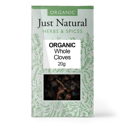Just Natural Organic Whole Cloves