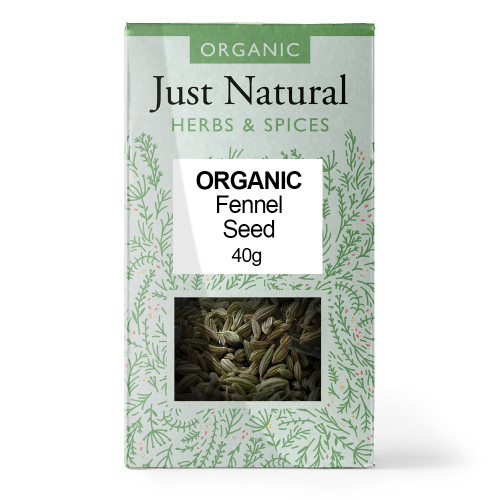 Just Natural Organic fennel Seeds