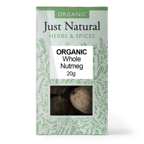 Just Natural Whole Nutmeg