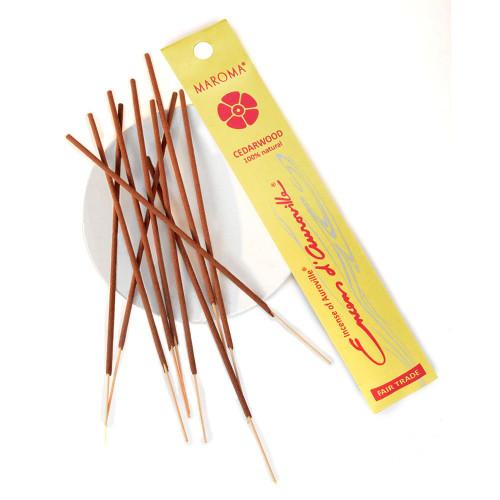Maroma Cedarwood Incense Sticks