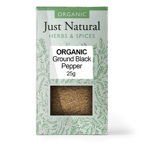 Just Natural Organic Ground Black Pepper