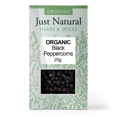 Just natural Organic Black Peppercorn