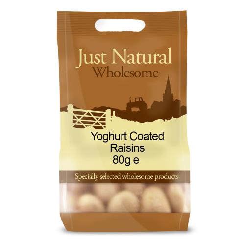 Just Natural Wholesome Yogurt Coated Raisins