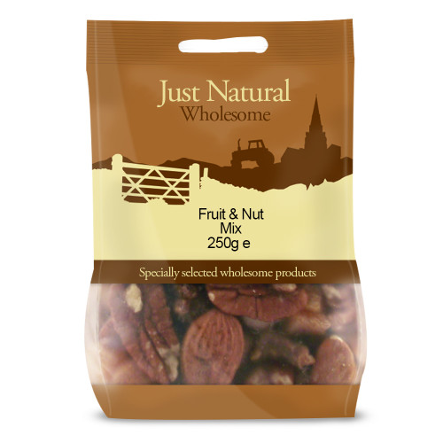 Just Natural Wholesome Mixed Fruit & Nuts