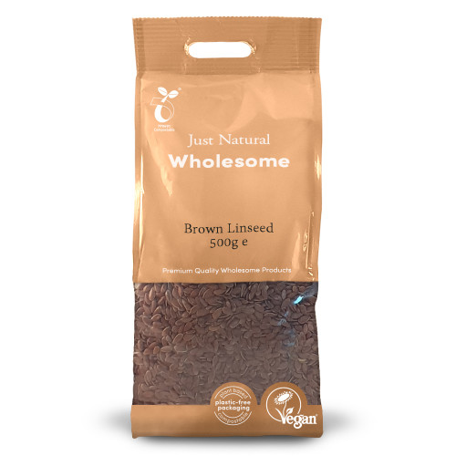 Just Natural Wholesome Brown Linseed