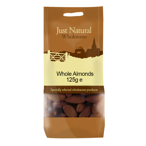Just Natural Wholesome Whole Almonds